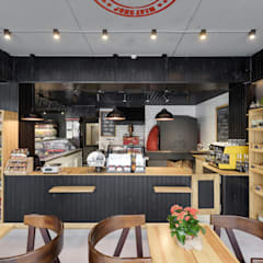 Дизайн магазина в черном и красном цвете: Офисы и магазины в . Автор – Art-i-Chok
