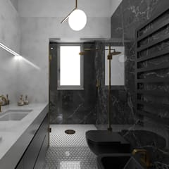 Bathroom by ULA architects, Eclectic