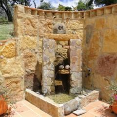 Casa De Campo El Cucharal: Terrazas de estilo  por ProEscala- Arquitectos