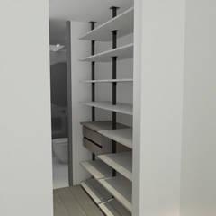Remodelación Apartamento Montoya: Vestidores de estilo  por ProEscala- Arquitectos