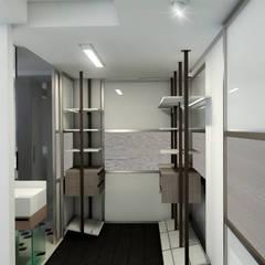 Remodelación Apartamento Montoya: Vestidores de estilo  por ProEscala- Arquitectos, Moderno