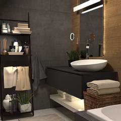 Частный дом г. Питер: Ванные комнаты в . Автор – owndesign