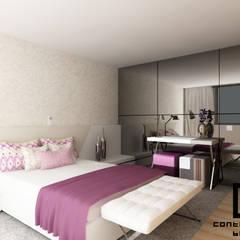 Design de Interiores de Moradia Moderna CCB _ V.N.Gaia: Quartos  por CB | Interior Design