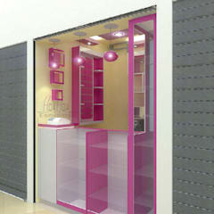 Arquitectura Comercial: Bodegas de estilo  por HoaHoa Espacios SAS