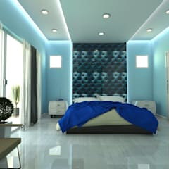 mediterranean Bedroom by Constantin Design & Build