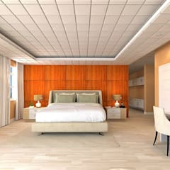 Chateau de Boudreault:  Bedroom by Constantin Design & Build