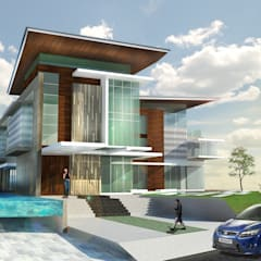 Bungalows by Arkitek Axis, Modern