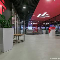 Klub sportowy Fabryka Formy: styl , w kategorii Siłownia zaprojektowany przez Bautech Sp. Z O.O.,