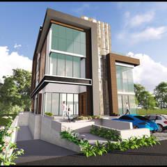 ALAM DAMAI HOUSE:  Bungalows by Arkitek Axis