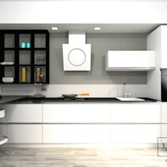 Built-in kitchens by MINIMAL di Casini Roberta, Minimalist