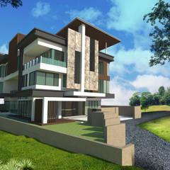 BUKIT JALIL:  Bungalows by Arkitek Axis