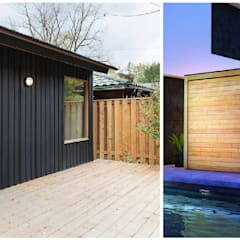 Saunas de estilo  por press profile homify