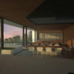 Casa Marbella: Comedores de estilo  por Nicolas Loi + Arquitectos Asociados