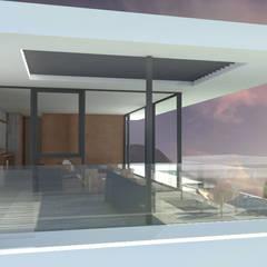 Casa Marbella: Casas de estilo  por Nicolas Loi + Arquitectos Asociados
