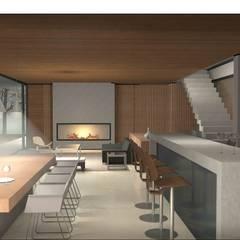 Ruang Makan by Nicolas Loi + Arquitectos Asociados