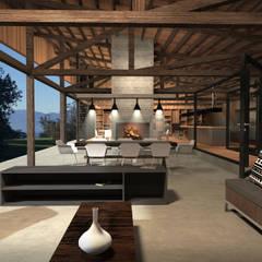 Comedores de estilo  por Nicolas Loi + Arquitectos Asociados