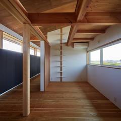 西七区の家: ARTBOX建築工房一級建築士事務所が手掛けた子供部屋です。