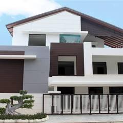 Bungalows de estilo  por Arkitek Axis, Moderno
