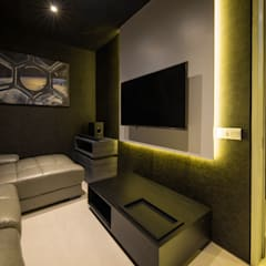 One KL @ KLCC:  Media room by Twelve Empire Sdn Bhd, Modern