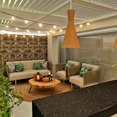 PROYECTO WA : Terrazas de estilo  por Luis Escobar Interiorismo