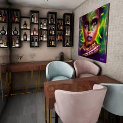 modern Wine cellar by Luis Escobar Interiorismo