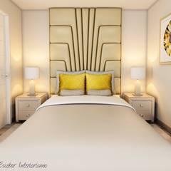 Proyecto JJ: Dormitorios de estilo  por Luis Escobar Interiorismo