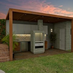 Proyecto ED: Cocinas de estilo  por Luis Escobar Interiorismo