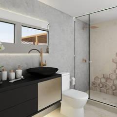 Proyecto ED: Baños de estilo  por Luis Escobar Interiorismo, Moderno
