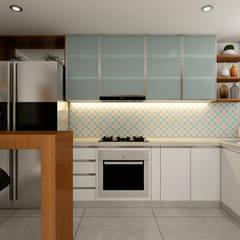 PROYECTO CR: Cocinas de estilo  por Luis Escobar Interiorismo