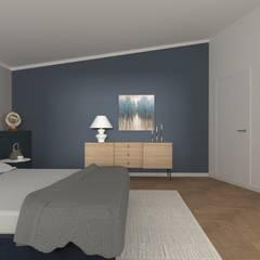 Bedroom by serenascaioli_progettidinterni, Modern