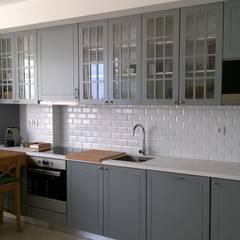 مطبخ ذو قطع مدمجة تنفيذ CF Arquitectura e Design, إسكندينافي