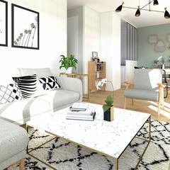 Aménagement Et Décoration Du0027un Appartement à Marseille: Salon De Style Par  GRAM Architecture