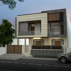 Facade Renovation:  Bungalows by KHOWAL ARCHITECTS + PLANNERS