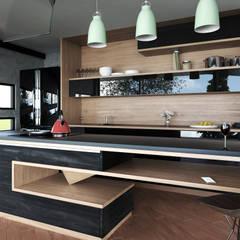Inbouwkeukens door Adrede Diseño