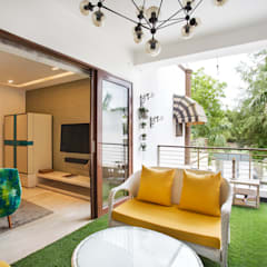 Chattarpur Farm House , New Delhi:  Garden Shed by Total Interiors Solutions Pvt. ltd.