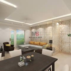 moderne Wohnzimmer von Matter Of Space Pvt. Ltd.