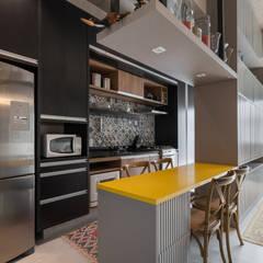 Studio Ideação Unit dapur MDF Grey