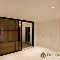 광장동 현대홈타운 12차 55py: Design Daroom 디자인다룸의  복도 & 현관,모던