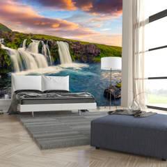 Dijivol Duvar Kağıtları – vol-SEL1402 / İzlanda Şelale:  tarz Duvarlar