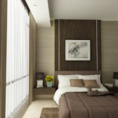 Dormitorios de estilo  por spacious.interiordnb