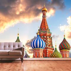 Dijivol Duvar Kağıtları – vol-DUS0913 / Aziz Vasil Katedrali:  tarz Duvarlar