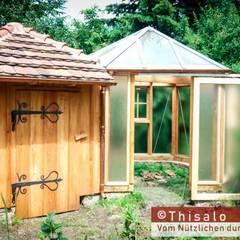 Gartenhütte und Gewächshaus: landhausstil Garten von Thisalo GmbH