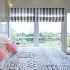 Exponierte Unternehmervilla in Bestlage - Ruhen:  Schlafzimmer von Tschangizian Home Staging & Redesign