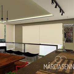 Lazer M+R: Escadas  por MÁRCIA SENNA ARQUITETURA E PAISAGISMO