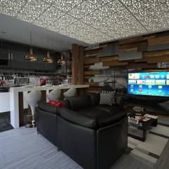 Interior#001: Cozinhas  por Factor4D - Arquitetura, Engenharia & Construção