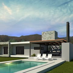 Kolam renang infinity by WE ARQUITECTURA