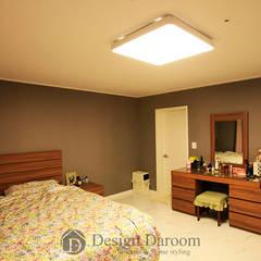 غرفة الميديا تنفيذ Design Daroom 디자인다룸