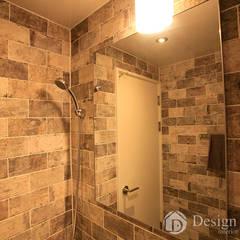 암사동 한강포스파크 아파트 안방욕실: Design Daroom 디자인다룸의  욕실