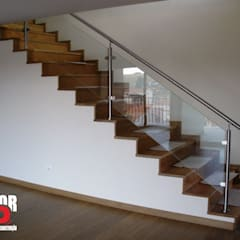 Interior#002: Escadas  por Factor4D - Arquitetura, Engenharia & Construção