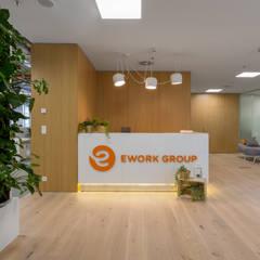 projekt biura: styl , w kategorii Biurowce zaprojektowany przez Dmowska design